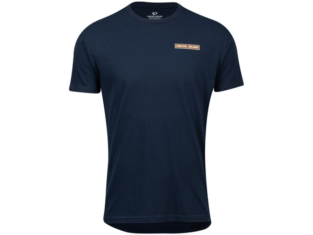PEARL iZUMi Graphic Tee Men midnight navy mountain sun badge